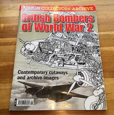 Aeroplane Collector's Archive British Bombers Of World War 2 Inc, Drawings, etc