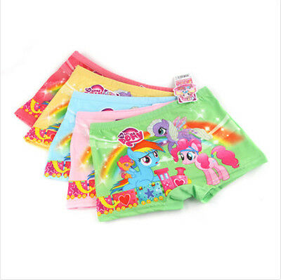 New 10 Pairs My Little Pony Kids Girls' Briefs Panties Underpants Underwear