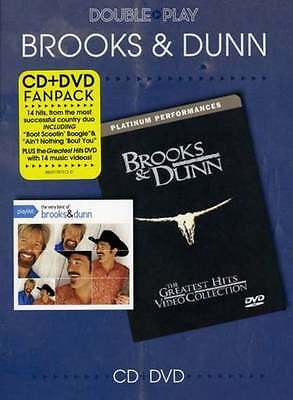 Brooks and Dunn- Double play- CD and DVD fan pack