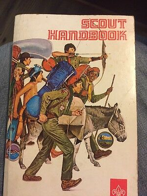 BSA Handbook: Scout Handbook July 1976 printing of 1972