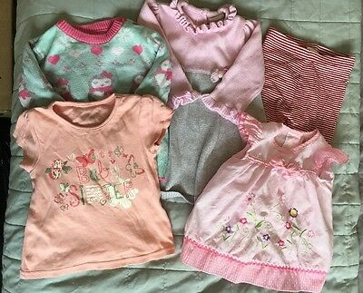 Baby Girls Bundle Of Clothes Aged 6-9 Months
