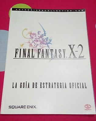 Guia Oficial Final Fantasy X-2 para Play Station 2 3 Piggyback en buen estado