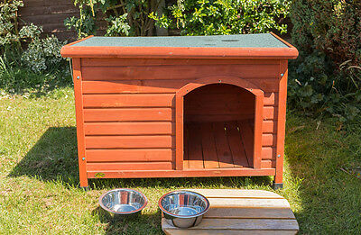 Wooden Dog Kennel, suit Medium or Small Dog,  Lift off Roof.