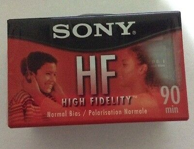 3 Pa3 New Sony HF High Fidelity 90 Minute Blank Recordable Audio Cassette