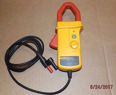 FLUKE i410 AC/ DC 400 AMP CURRENT ELECTRICITY CLAMP METER
