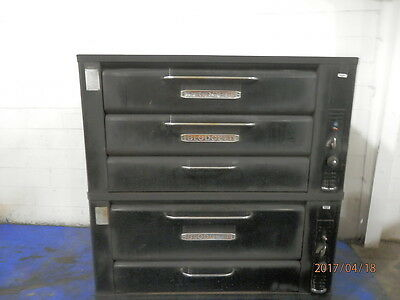 Blodgett 981  Tripple Stack Gas Pizza Or Bakery Ovens