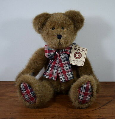 Boyds Jointed Hb Heirloom Series Bear Dustin D Bearican With Tags 16 Inches