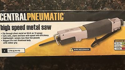 New Central Pneumatic High Speed Air Metal Saw Model 91753 *Free Ship*