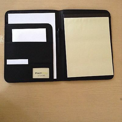 Document Organiser Clipboard With Pen Leather PU SIZE A4