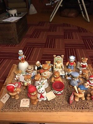 Lot Of 21 Pieces Lucy And Me Bears. 1979 Etc.