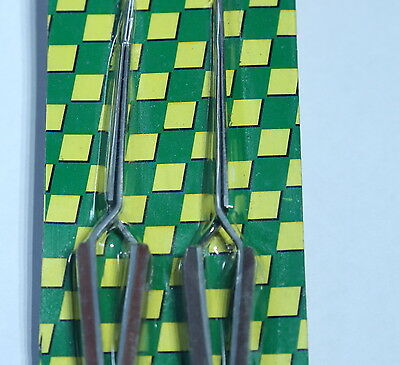 2 Precise Tweezers For Fly Fishing Tying Tools Lures Floats