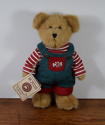 Boyds Jointed Best Dressed Collection Bear Jr Mintly With Tags 10 Inches