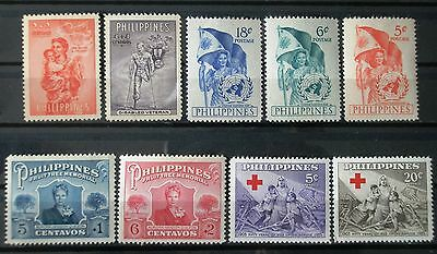 (H109) Philippines selected stamps MNH/MLH
