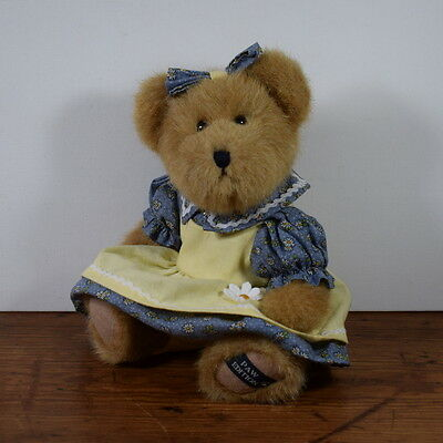 Boyds Jointed Best Dressed Collection Bear Janet C Daiseydew With Tags 10 Ins