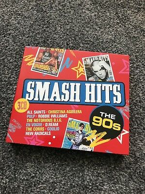 Smash Hits The 90s 3*CD Compilation (2017)