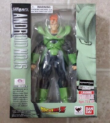 s.h.figuarts android 16 dragon ball z