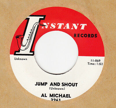 R'n'b / New Orleans Shaker -- Al Michael -- Jump And Shout