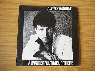 """Alvin Stardust - A Wonderful Time Up There - 7"""" single"""