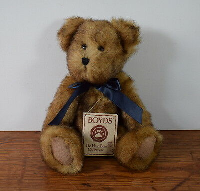 Boyds Jointed Hb Heirloom Series Bear Winslow Beariman With Tags 10 Ins