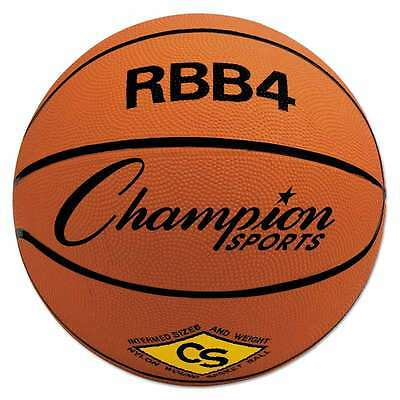 Champion Sports Rubber Sports Ball, For Basketball, No. 6, Interm 710858007778