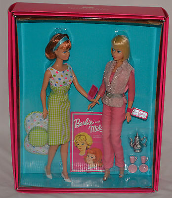 American Girl Vintage Barbie and Bendleg Midge 50th Anniversary reproduction WOW