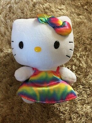 Ty Hello Kitty Small Teddy Soft Toy