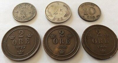6 Early Ore Coins