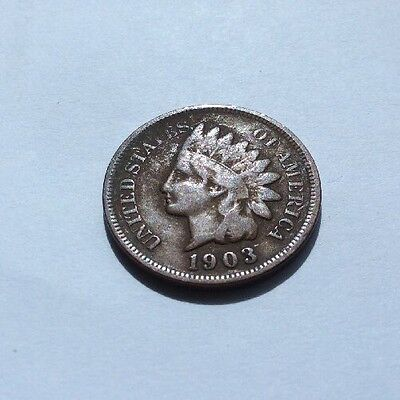U. S. Indian Head Cent 1903