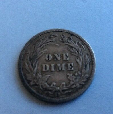 U. S. Denver Mint Dime Of 1907