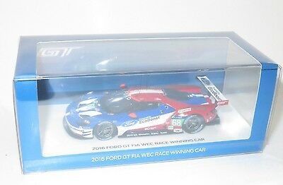 1/43 Ford GT EcoBoost FIA WEC Le Mans 24 Hrs 2016 #68  Hand/Muller/Bourdais