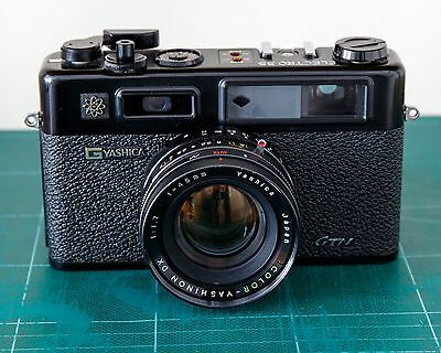 Yashica Electro 35 GTN Black 35mm Rangefinder - Superb