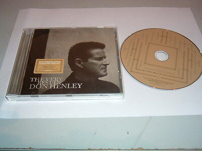 Don Henley - The Very Best Of Cd Album