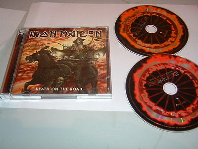 IRON MAIDEN - DEATH ON THE ROAD      2 x CD ALBUM