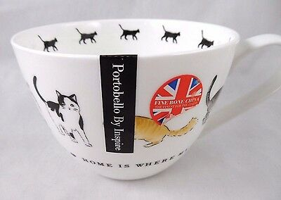 Portobello By Inspire Different Cats With Ball Of String Coffee Mug Cup New More
