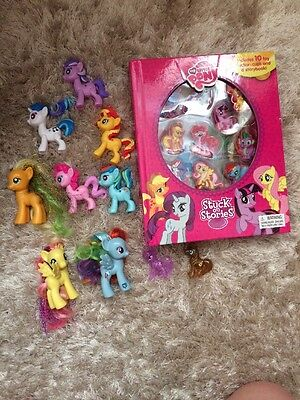 My Little Pony Book And Figures Toys