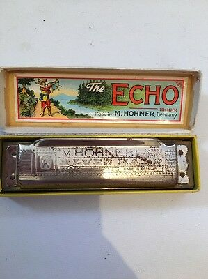 Echo Super Vamper Harmonica Made By M.Hohner