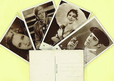 Europe - 1930s Film Star Postcard s Produced in France #334 to #480 Cinema/Movie