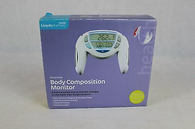 Lloyds Pharmacy Hand Held Body Composition Monitor Bmi Muscle Fat Mass Fitness