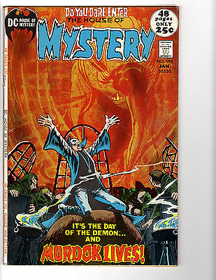 House of Mystery #198 (1/72) VG+ (4.5) Wrightson! Great Bronze Age Horror!