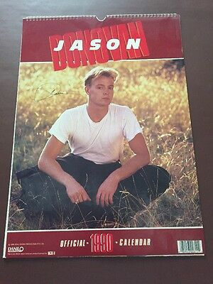 Jason Donovan Official 1990 Calendar