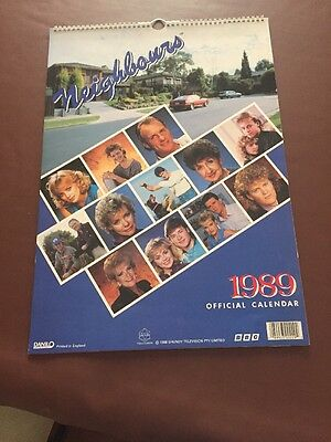 Neighbours 1989 Official Calendar