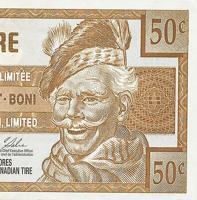 Canadian Tire Money 2003 note  50 cent
