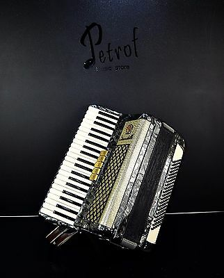 VINTAGE TOP QUALITY ACCORDION SCANDALLI - 120 bass +NEW STRAPS -=Made in Italy=-