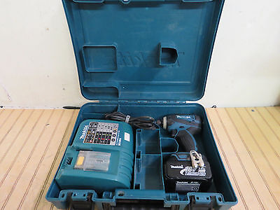 Makita XDT04Z LXT 18V 1/4-inch Hex Lithium-ion Impact Drill Driver