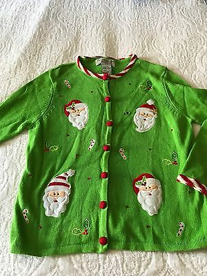 Ugly christmas sweater child size 12