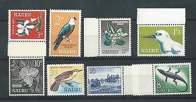 Nauru - 1963 to 1965 Definitive Issue - Complete set - Un-mounted Mint