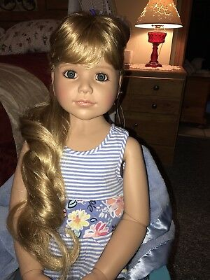 MASTERPIECE DOLL Laura Blue eyes by Monika Peter-Leicht  RARE! HARD TO FIND