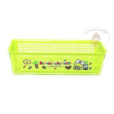 Sanrio Kerokeroppi Multi-Purpose Plastic Basket/accessories Basket/cute Basket