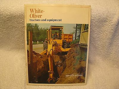 1967 White Oliver Industrial Tractors and Equipment Brochure