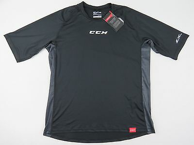New! CCM EX Dry Team Issued NHL Pro Stock Hockey Player Athletic Gym Shirt L AHL